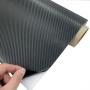 Crna 3D karbon folija- crna carbon folija - sirina 127cm