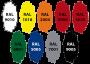 Univerzalni toner za smolu -RAL- 50grama