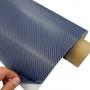 Plava 3D karbon folija- Plava carbon folija - sirina 127cm